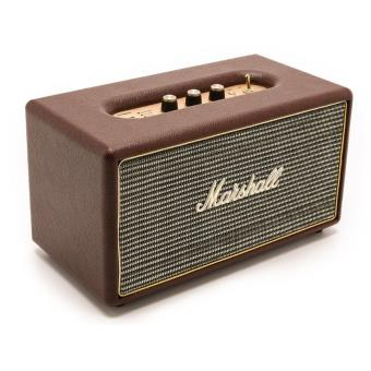 enceinte sans fil marshall stanmore brown mini enceinte achat prix fnac. Black Bedroom Furniture Sets. Home Design Ideas