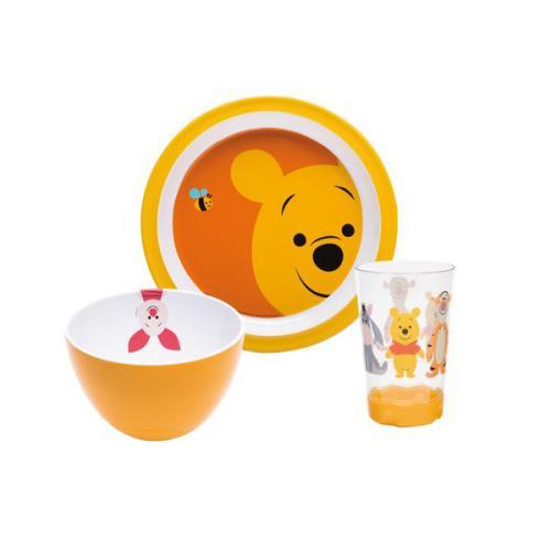 Assiette Disney Zak!designs Set enfant 3 pièces Winnie