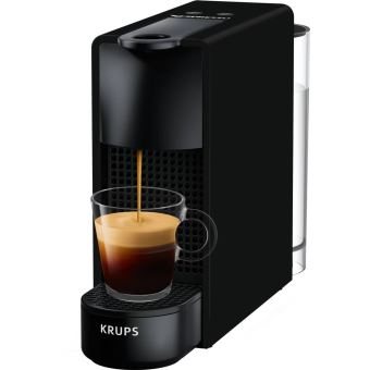Expresso à capsules Krups Nespresso Essenza Mini Noir mat
