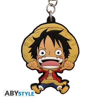 Porte-clés en PVC One Piece Luffy SD