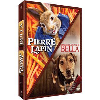 Coffret Pierre Lapin et L'Incroyable Aventure de Bella DVD