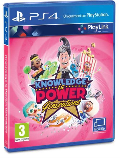 Knowledge is Power Generations PS4