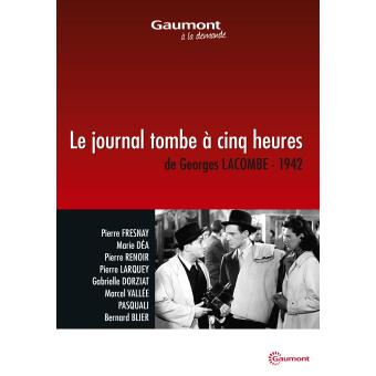 Le journal tombe à cinq heures DVD