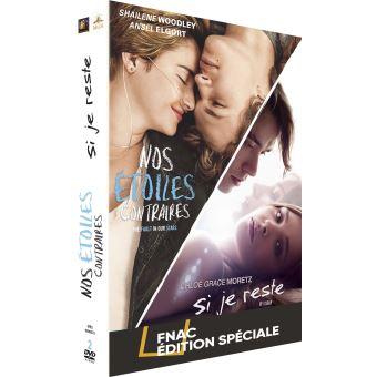 Coffret Nos étoiles contraires et Si je reste Edition Spéciale Fnac DVD