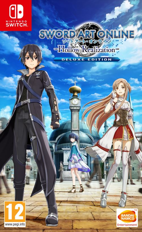 Sword Art Online Hollow Realization Edition Deluxe Nintendo Switch