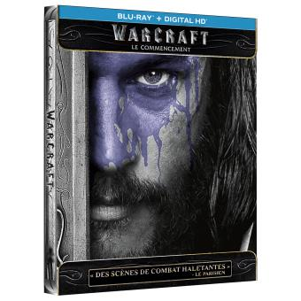 Warcraft Le Commencement Steelbook Blu-ray