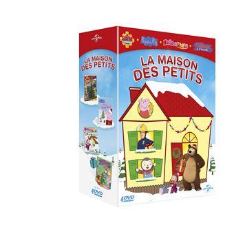 Coffret La maison des petits DVD
