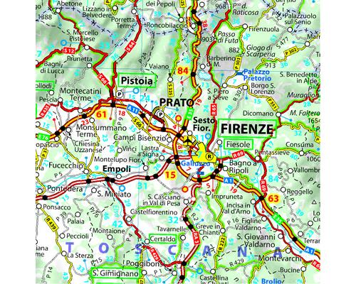 Carte Italie Michelin.Carte Italie 2019 Michelin