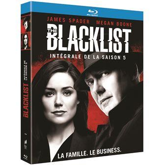 The BlacklistThe Blacklist Saison 5 Blu-ray