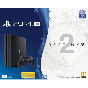 PS4 Pro  1TB + Destiny 2