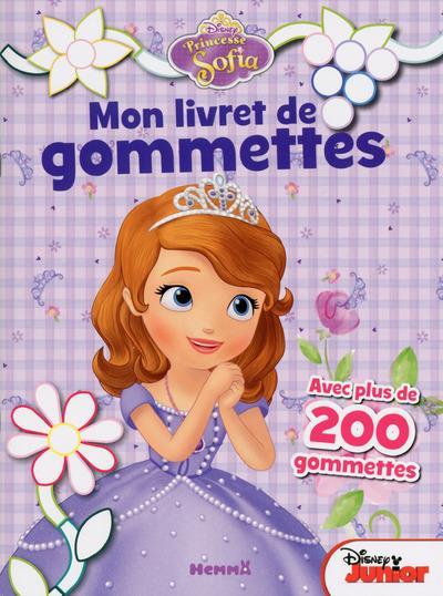 Princesse Sofia : mon livret de gommettes