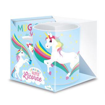 Coffret licorne coffret livre avec 1 mug en porcelaine for Coffret couture avec accessoires