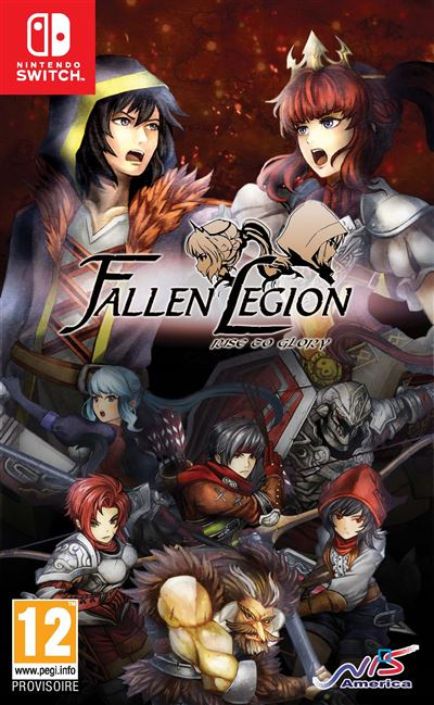 Fallen Legion Rise to Glory Nintendo Switch