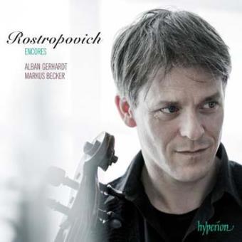 Rostropovich Encores : Œuvres pour violoncelle et piano