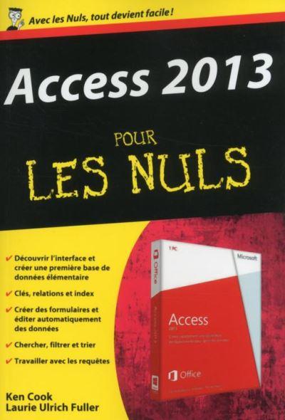 Access 2013 Poche pour les Nuls - 9782754065290 - 8,99 €