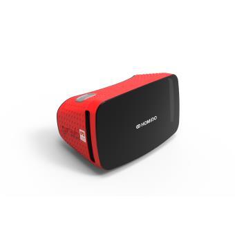 Casque de réalité virtuelle Homido Grab Rouge pour smartphones