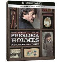 Sherlock Holmes Jeu d'ombres Steelbook Blu-ray 4K Ultra HD