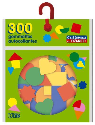 300 gommettes autocollantes maternelles