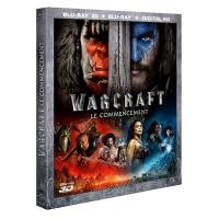 Warcraft Le Commencement Blu-ray 3D