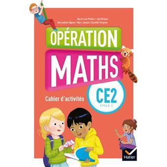 Opération Maths CE2 Éd.2018 - Cahier d'activités +  Matériel