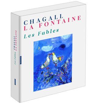 Les Fables de La Fontaine illustrées par Chagall (Coffret)