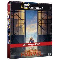 Captain Marvel Steelbook Edition Spéciale Fnac Blu-ray 3D