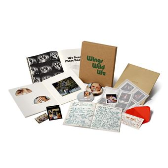 Wild Life Coffret Edition Super Deluxe Inclus DVD