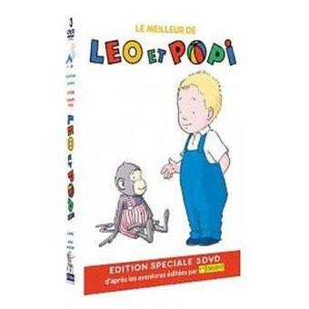 Léo et PopiCoffret Le Meilleur de Léo et Popi DVD