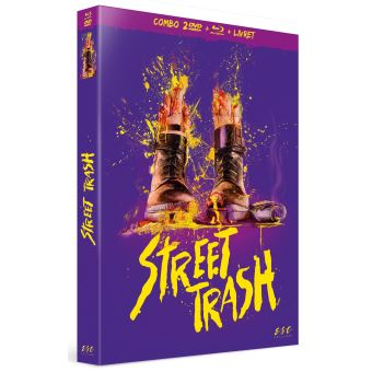 Street Trash Edition Collector Combo Blu-ray DVD