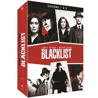 The BlacklistCoffret The Blacklist Saisons 1 à 5 DVD
