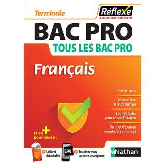 Francais Bac Pro Tous Les Bac Pro Terminale Guide Reflexe N14 2018