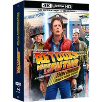 Coffret Retour vers le futur Steelbook Blu-ray 4K Ultra HD