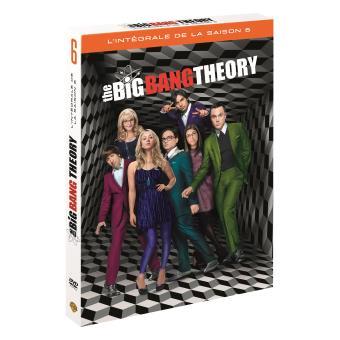 The Big Bang TheoryCoffret intégral de la Saison 6  DVD