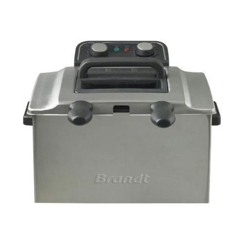 Friteuse Double Brandt 1,6Kg 3000W I Inox