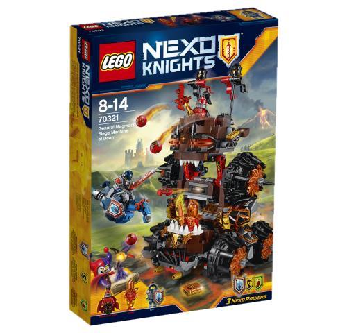 prix LEGO 70321 La Machine Maudite Du General Magmar