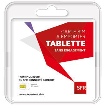 Kit Carte Esim De Sfr Fr Sans Engagement Accessoire Pour