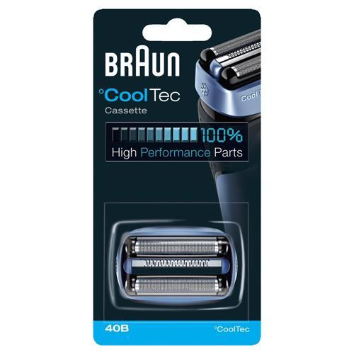 Cassette rasoir électrique Braun Cooltec