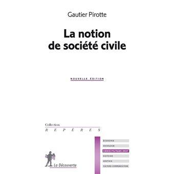La notion de société civile