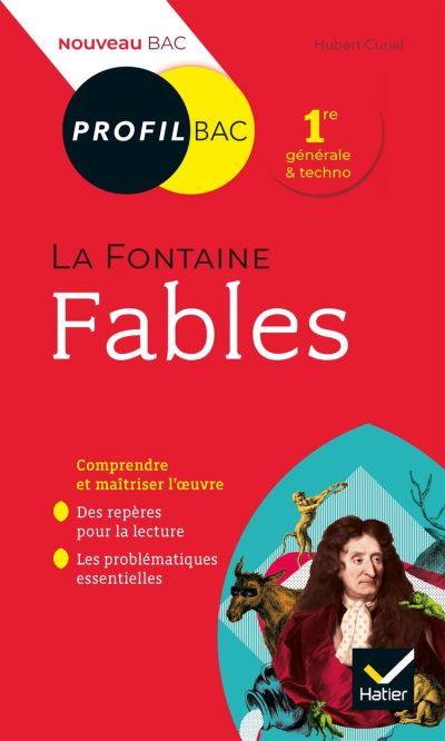 Profil - La Fontaine, Fables - toutes les clés d analyse pour le bac (programme de français 1re 2019-2020) - 9782401060104 - 2,49 €