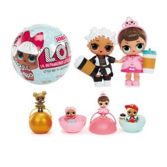 boule surprise mini poup e 6 accessoires splash toys lol poup e fnac. Black Bedroom Furniture Sets. Home Design Ideas