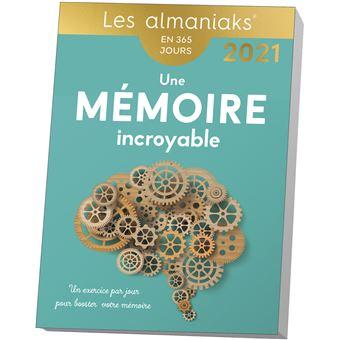 Almaniak Une mémoire incroyable en 365 jours 2021   broché   Yann