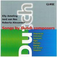 Mélodies françaises de compositeurs néerlandais du XXème s.