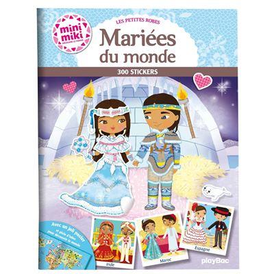 Minimiki -  : Les robes de mariée du monde, Stickers