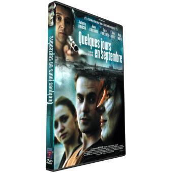 Quelques jours en septembre DVD