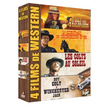 Coffret Western 4 Films DVD