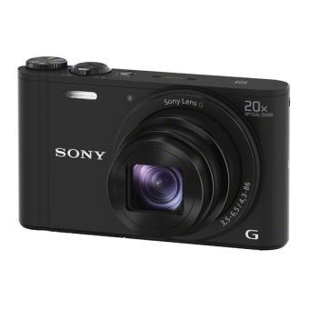 Compactcamera Sony DSC-WX350 wifi en NFC, zwart