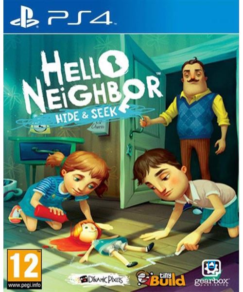 Hello Neighbor Hide and Seek PS4