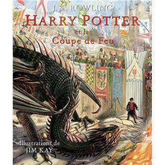 Harry Potter Version Illustree Tome 4 Harry Potter Et La Coupe De Feu