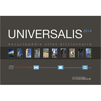 encyclopedie universalis en dvd