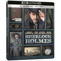 Sherlock Holmes Steelbook Blu-ray 4K Ultra HD